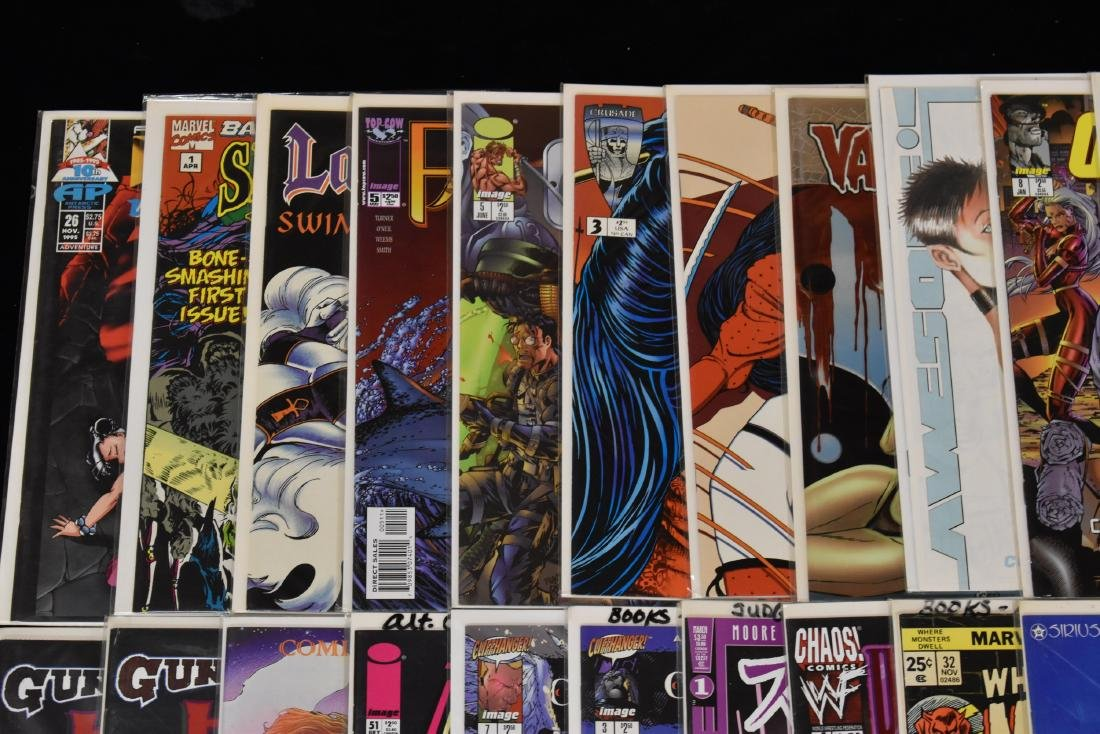 46 issues of Miscellaneous Comic Book Lot - 2
