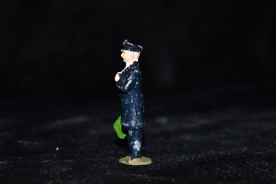 Lead/Tin Policeman Toy England WWI Era