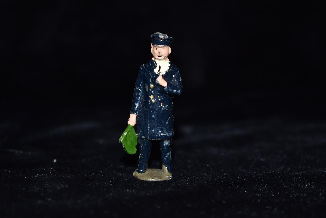 Lead/Tin Policeman Toy England WWI Era - 2