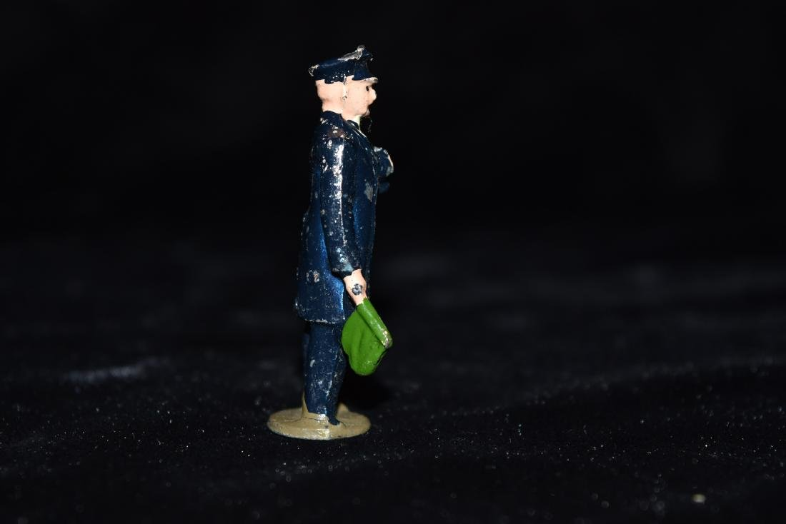 Lead/Tin Policeman Toy England WWI Era - 4