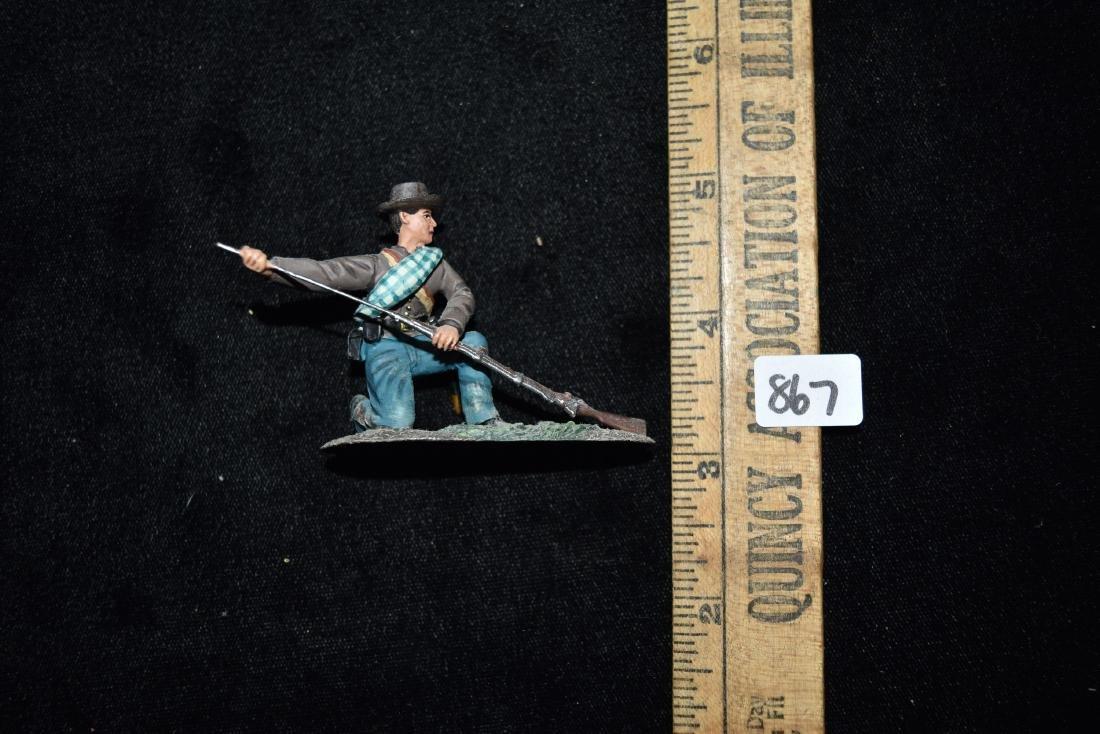 W Britain American Civil War - Confederate Infantry - 6