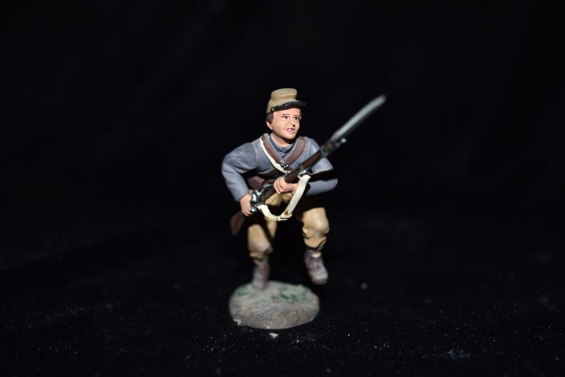 W Britain American Civil War - Confederate Infantry - 2