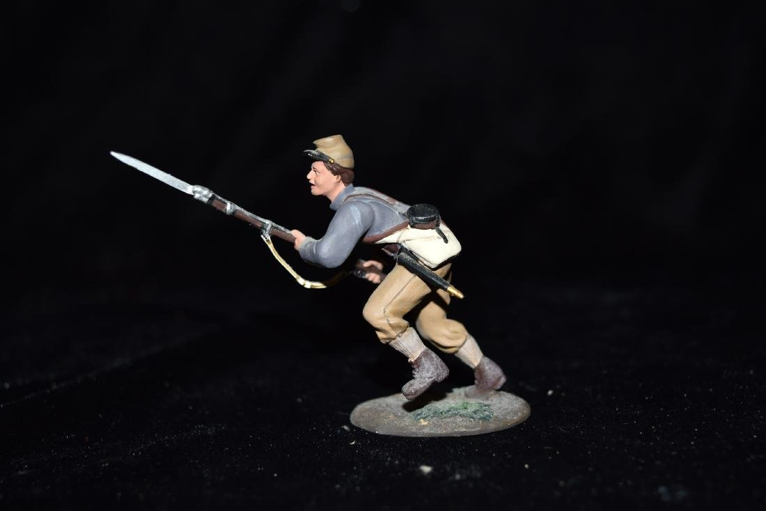 W Britain American Civil War - Confederate Infantry - 4