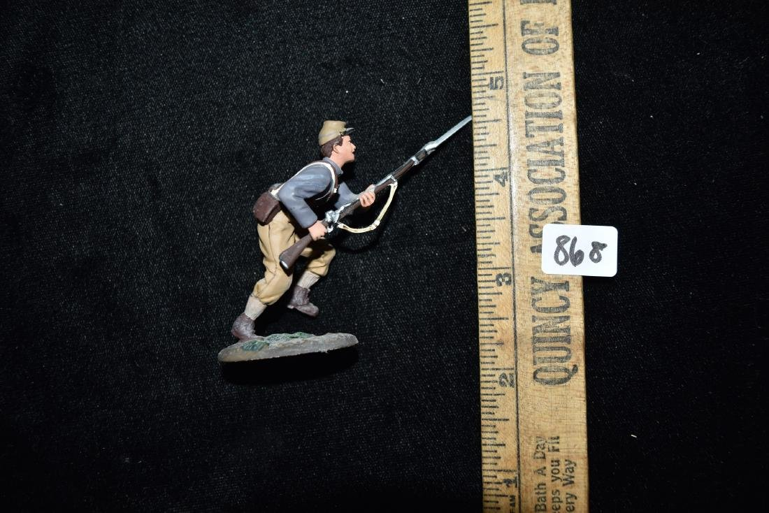 W Britain American Civil War - Confederate Infantry - 6