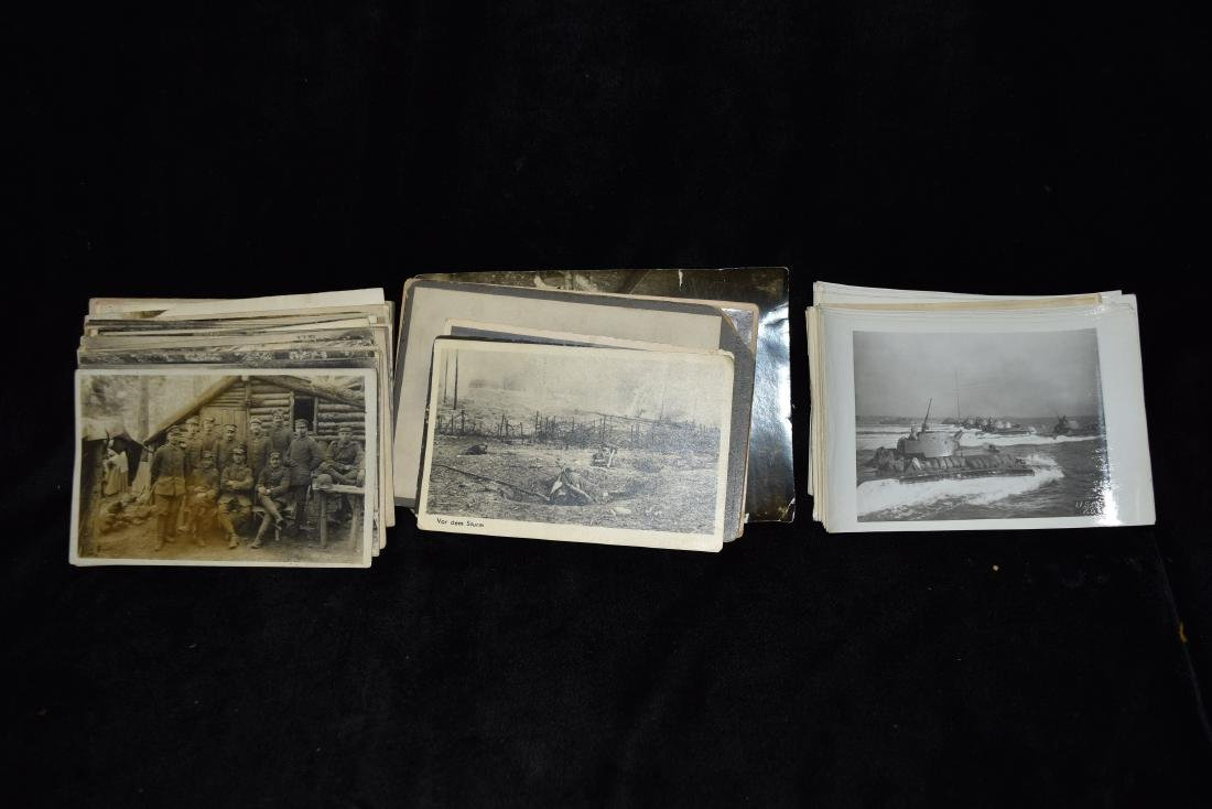 Cigar Box Full of German WWI Era Postcards (Some with