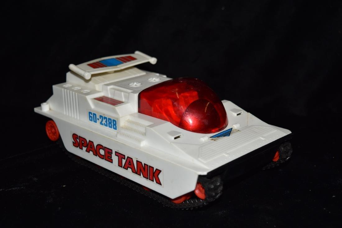Radio Shack Space Tank Vintage Toy 1970s