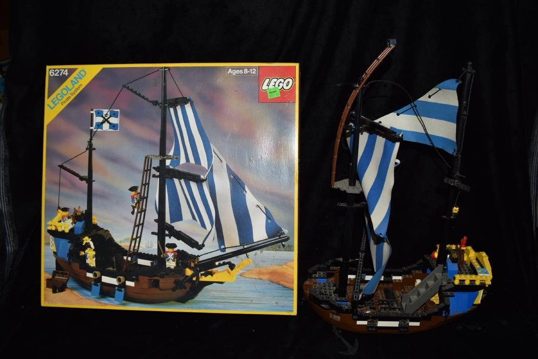 Lego Caribbean Clipper Ship with Original Box