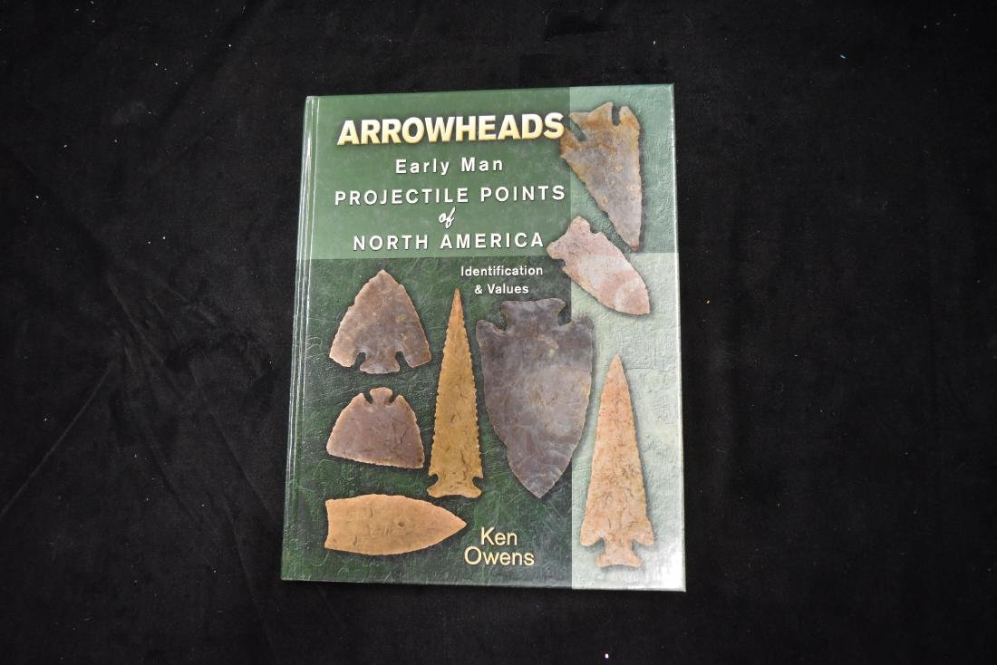 Arrowheads Early Man Projectile Points of North America Identification /& Values