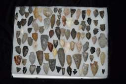 Lot of Arrowheads, Various Locations