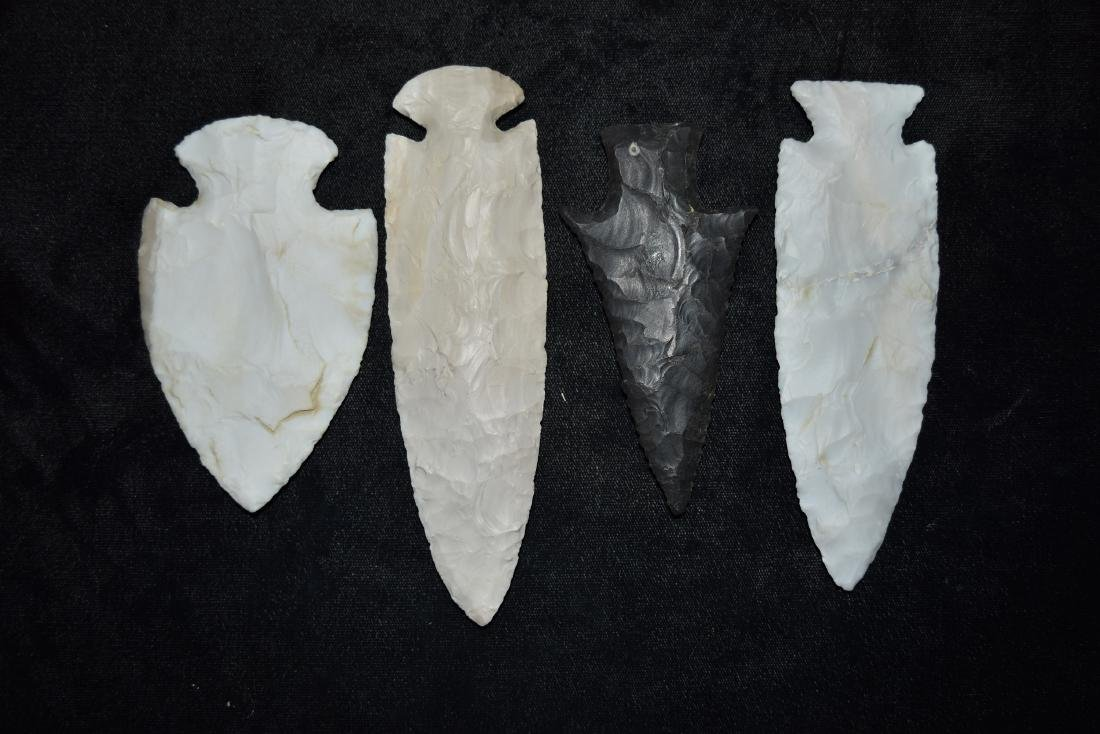 Lot of Reproduction Arrowheads - 2