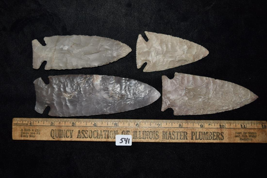 Lot of Reproduction Arrowheads - 3