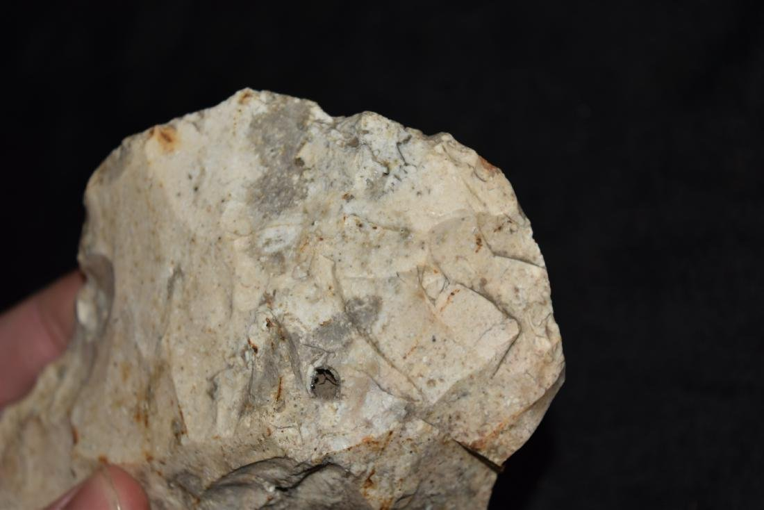 """6 x 3 1/2"""" Flint adze from Perry County, MO - 5"""