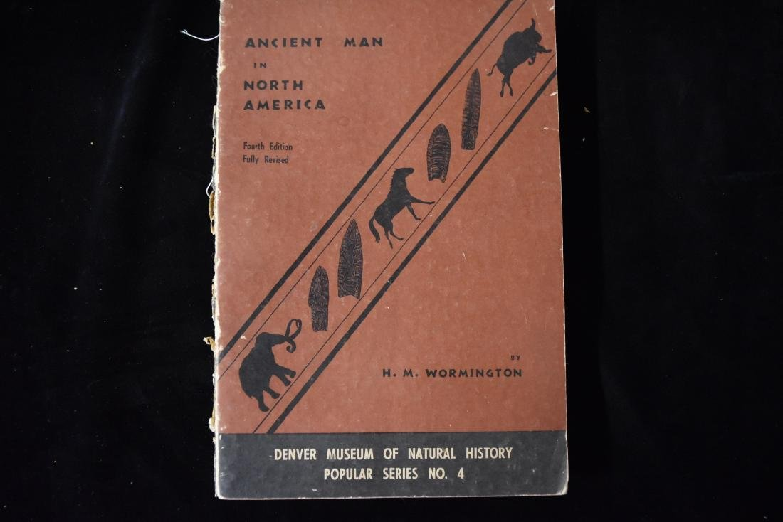 Ancient Man in North America by H.M. Wormington, 1964