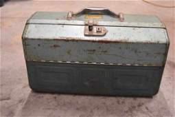 Antique Walton Products Grip Loc Tackle Box