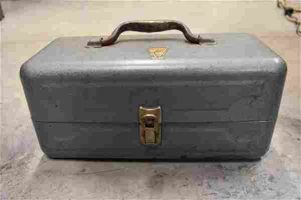 Antique My Buddy Falls City Product Tackle Box