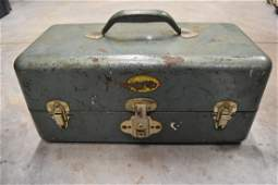 Antique Simonsen Metal Products Co. Tackle Box