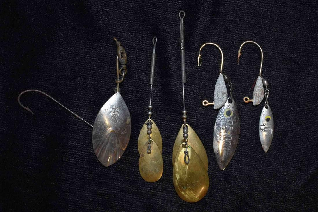 Lot of 5 Fishing Lures
