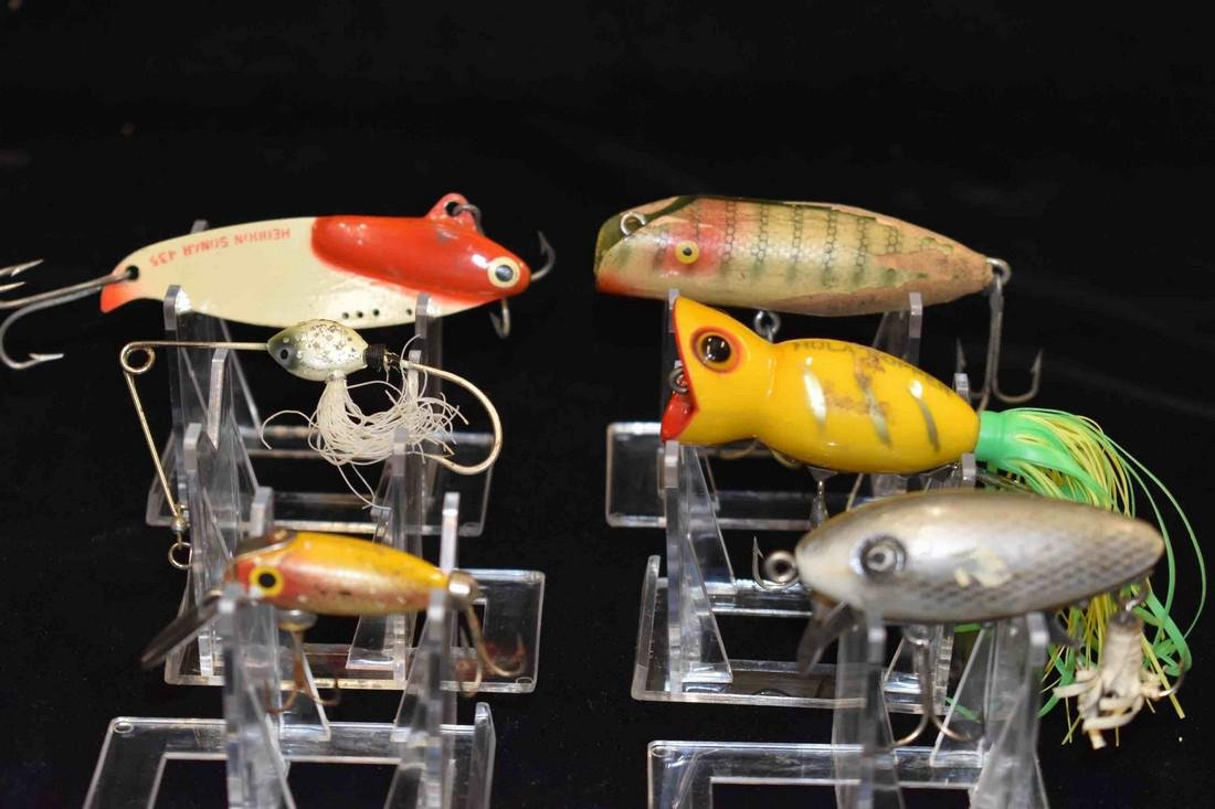 Lot of 6 Antique Fishing Lures