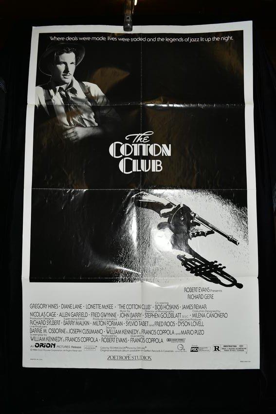 "Original ""The Cotton Club"" Movie Poster, 1984"