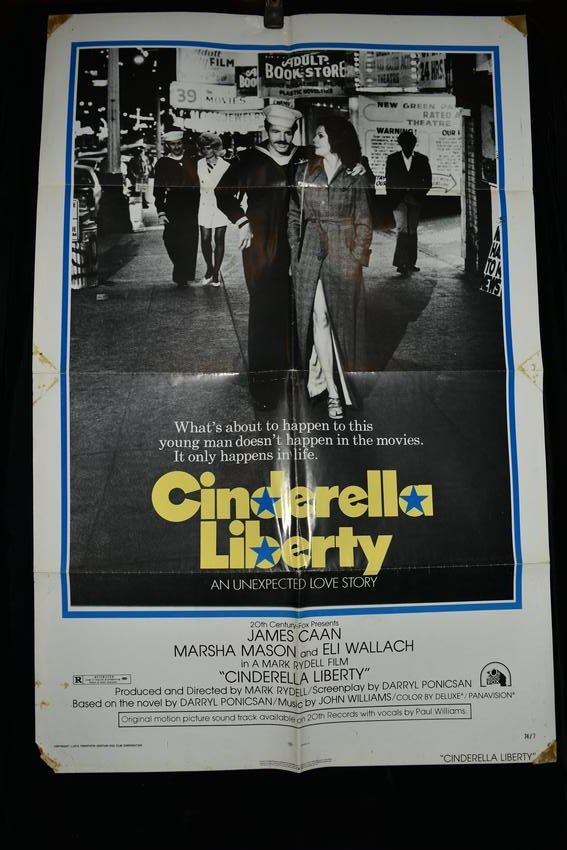 "Original ""Cinderella Liberty"" Movie Poster, 1974"