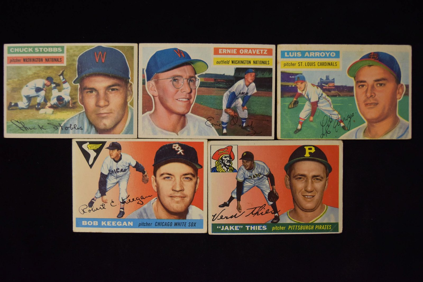 Lot of 1950's Baseball Cards