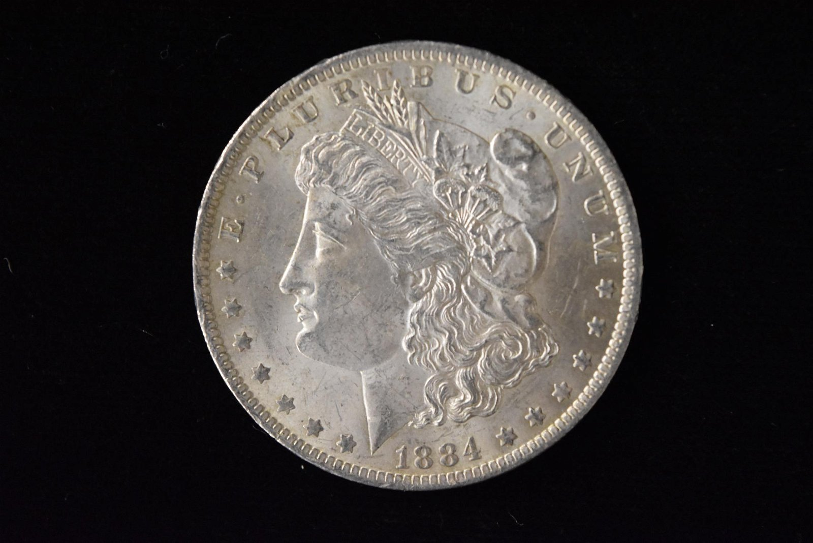 1884 High Grade Morgan Silver Dollar Grade By Picture.
