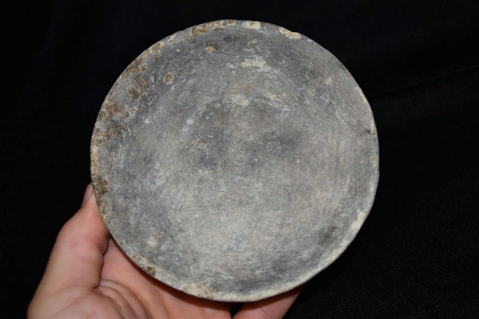"5 1/2"" Pre Columbian Pottery Plate"