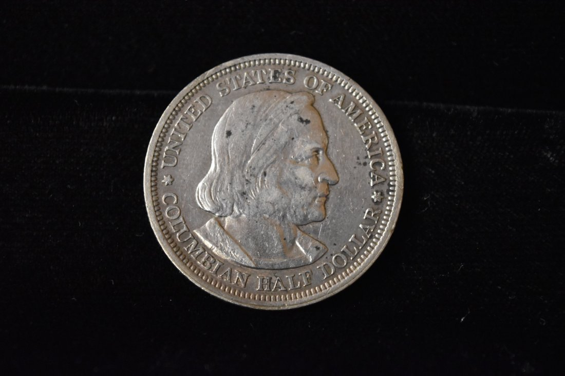 1892 Commemorative 1/2 Dollar Columbus Expedition USA