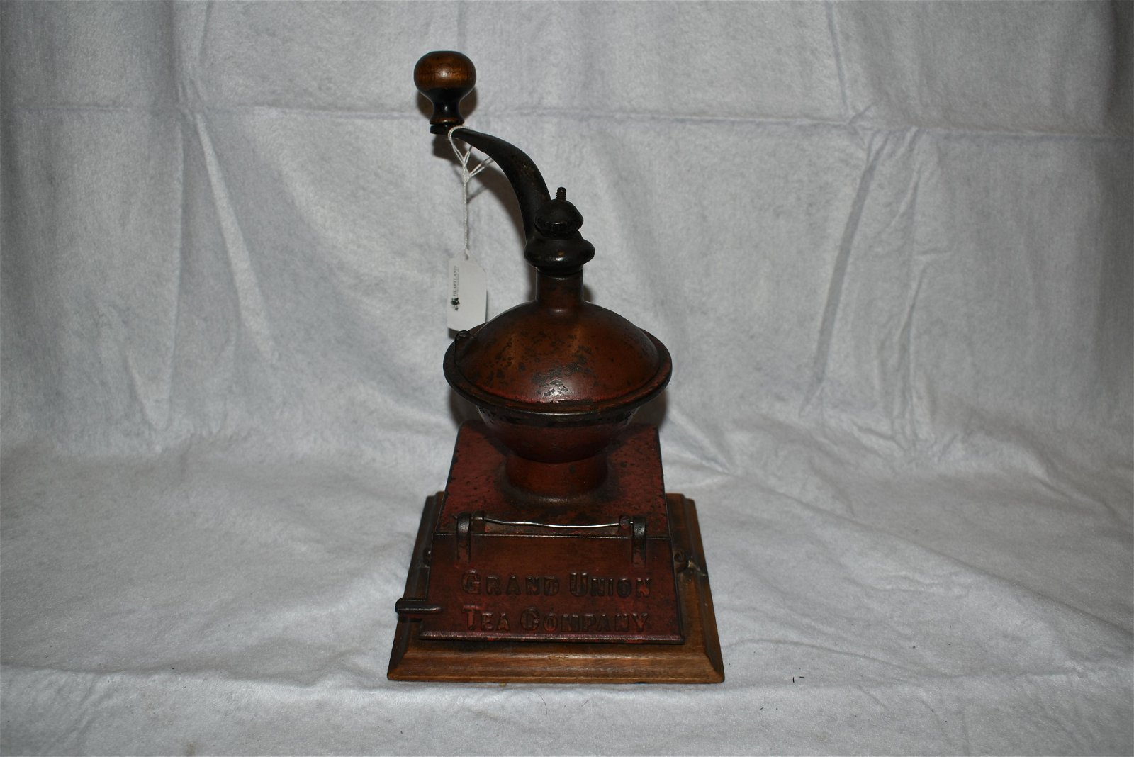 Grand Union Cast Iron Coffee Mill, Made by Griswold,