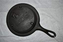7 Gate Marked Cast Iron Skillet Vintage Cast Iron