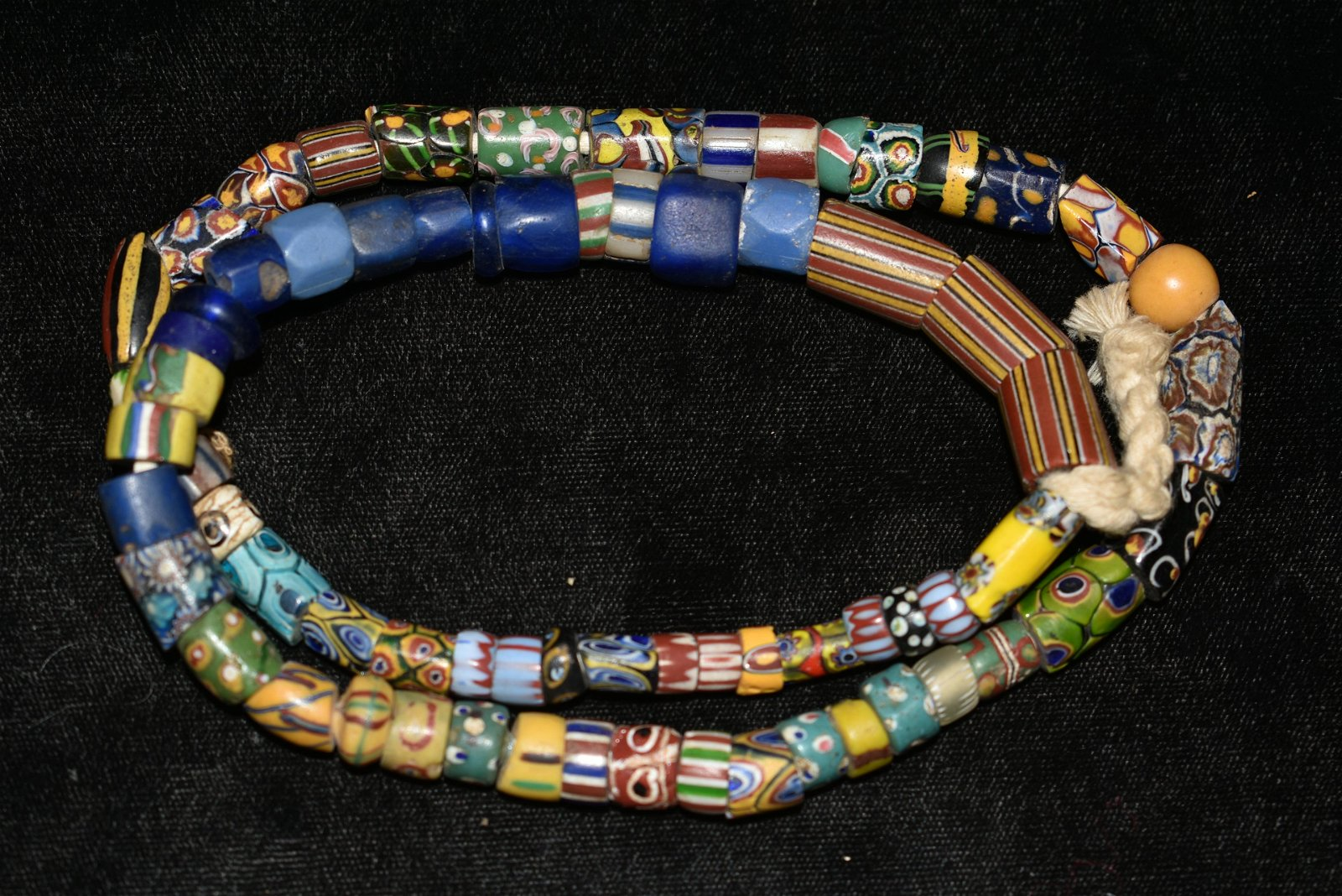 "22"" Strand of African Trade Beads"