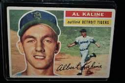 Antique Al Kaline Detroit Tigers Outfield Baseball Card