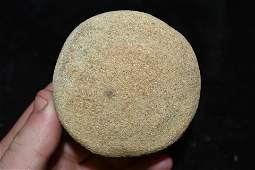 "2 1/2"" Sandstone Discoidal found in Randolph Co.,"