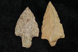 Lot of 2 Gary Point's found in Arkansas, Largest