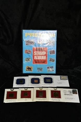 1977 Premier Stamp Album Loaded