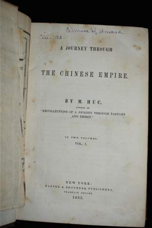 1855 The Chinese Empire 1st Ed