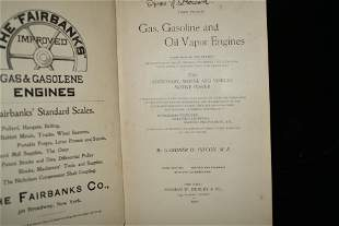 1900 Gas, Gasoline and Oil Vapor Engines