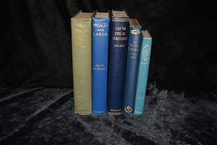 5 Antique Early 1900's Books