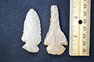 """2 Dovetail's Longest is 2 5/8 """" Found in Union Co. KY"""