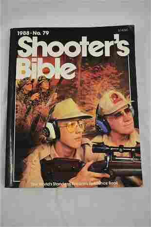 1988 No. 79 Shooters Bible, Stoeger, Paperback Books