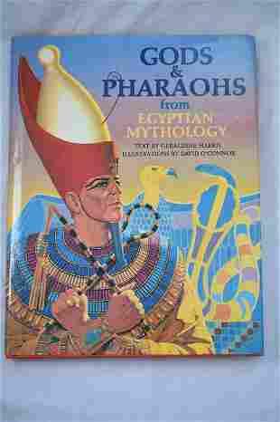 Gods and Pharaohs from Egyptian Mythology, Harris,