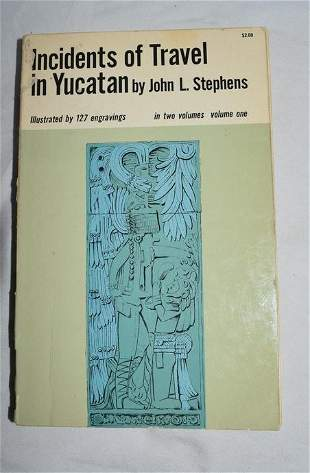 Incidents of Travel in Yucatan, Vol 1, Stephens, Dover