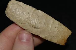 "2 3/8"" Agate Basin Blunt, Native American Artifact"