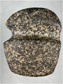 """3 1/2"""" HIGHLY DEVELOPED 3/4 GROOVED AXE FOUND IN"""