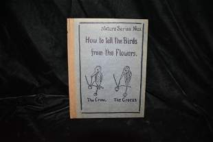1907 How To Tell The Birds From The Flowers 1st Ed