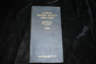 1923 McGraw Central Station Directory