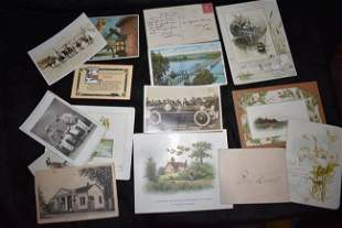 Collection of Post Cards 1800's to 1930