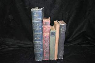 Collection of 5 1800's Poetry Books