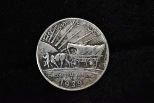 1939 Oregon Trail Commemorative US Coin