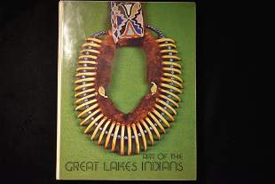 BOOK; ART OF THE GREAT LAKES, HARDBACK, 113 PAGES FULL